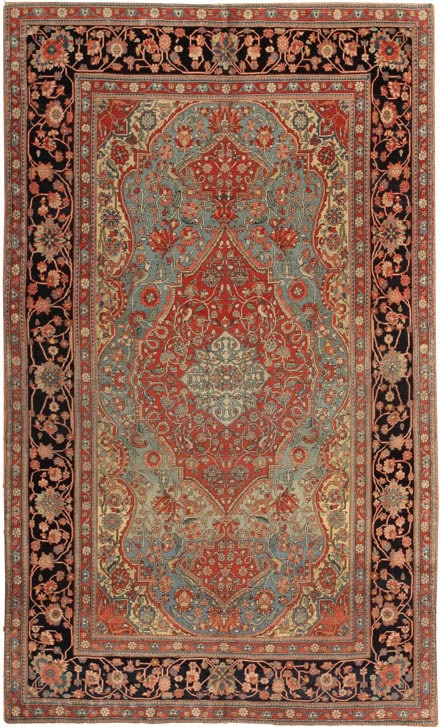 44635 Antique Mohtashem Kashan Rug Luxury Rugs and Fine Antique Carpets