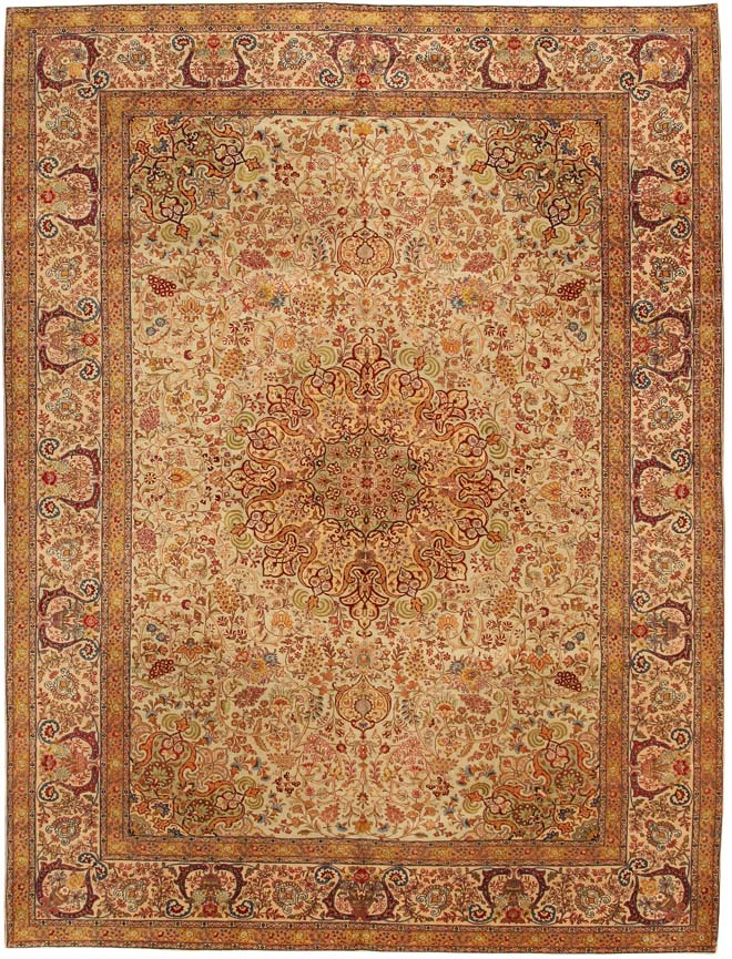 Antique Tabriz Persian Rug 79931 Luxury Rugs and Fine Antique Carpets