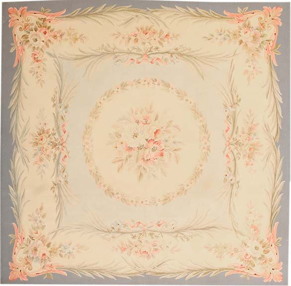 Antique Aubusson French Rug 43796 Main Image - By Nazmiyal