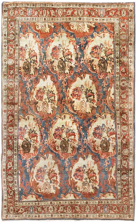 antique bidjar rug 441592 Antique Bidjar Persian Rug 44159
