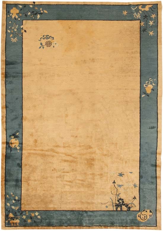 Antique Chinese Oriental Carpets 7614 Main Image - By Nazmiyal