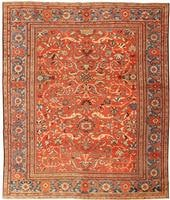 t Antique Sultanabad Persian carpet 434581 Antique Persian Mahal Gallery Carpet 47298