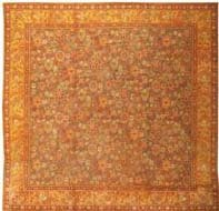 Antique Axminster English Rug 2772 Color Details - By Nazmiyal