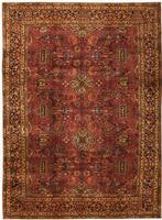 Antique Kashan Persian Rug 43549 Color Details - By Nazmiyal