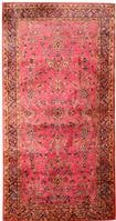 Antique Silk Kashan Persian Rug 43903 Color Details - By Nazmiyal