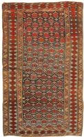 Antique Shirvan Rug 43311 Color Details - By Nazmiyal