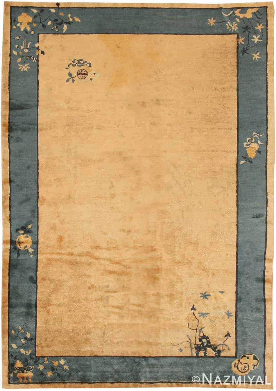 Antique Chinese Oriental Carpets 7614