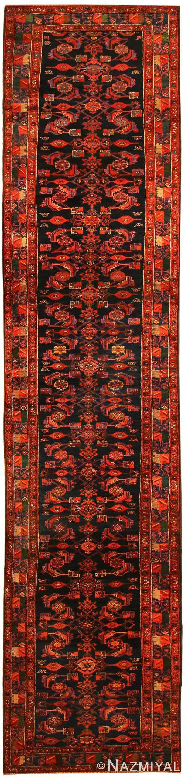 Antique Hamedan Persian Rug 43844 Nazmiyal Collection
