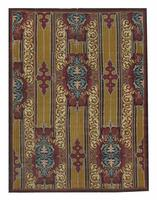 Antique Aubusson French Rug 44477 Color Details - By Nazmiyal