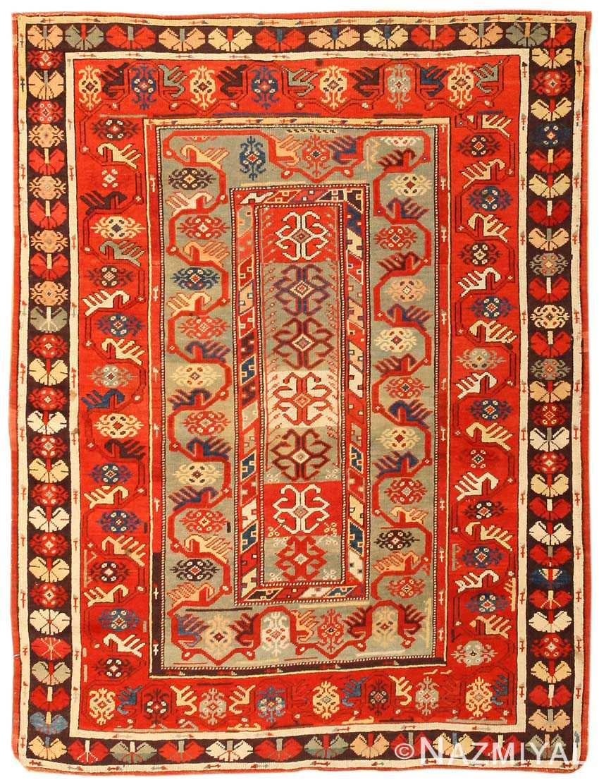 antique milas turkish rug 8297 nazmiyal collection