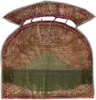 color 44718 Antique Persian Kerman Rug 47396