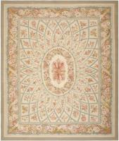 Modern Aubusson Rug 44690 Color Detail - By Nazmiyal