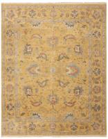 color 44683 Antique Ivory Background Oushak Carpet From Turkey 47443