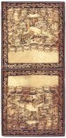 Antique Rank Badge/pair 46127 Color Detail - By Nazmiyal