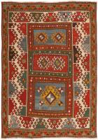 Antique Kazak Rug 46355 Color Detail - By Nazmiyal