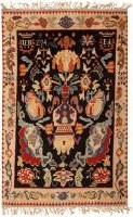 color 46359 e1352927769244 Vintage Swedish Rya Rug 47323