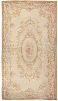 Antique French Aubusson Carpet 46451 Color Detail - By Nazmiyal