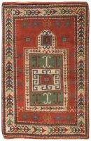 Antique Caucasian Kazak Rug 46484 - By Nazmiyal