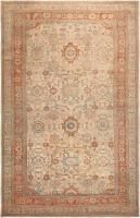 Antique Ziegler Sultanabad Rug 46452 Color Detail - By Nazmiyal