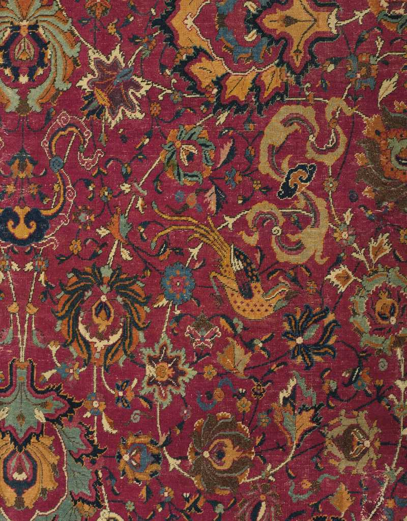 Detail of Safavid Isfahan Carpet