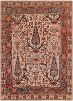 Antique Persian Afshar Carpet 46740 Nazmiyal - By Nazmiyal