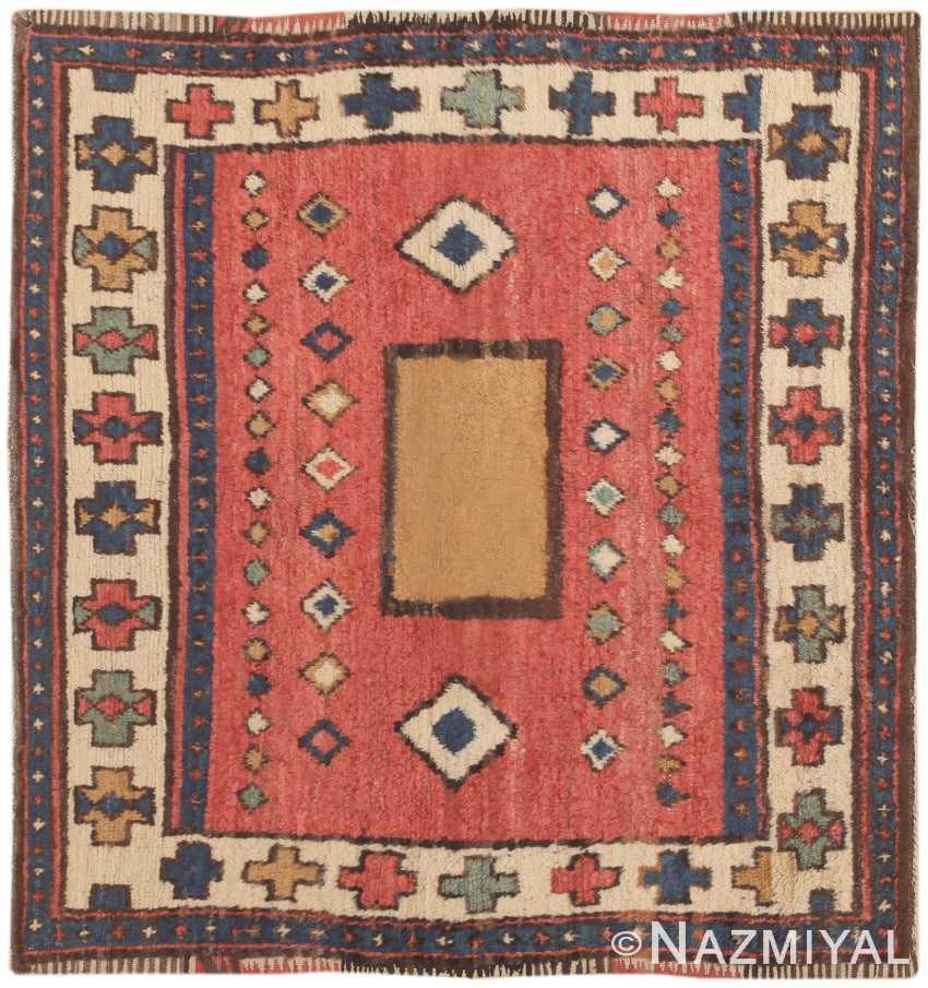 Turkish Ground Rug: Antique Turkish Karapinar Rug