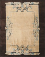 Vintage Chinese Art Deco Rug 47019 Color Detail - By Nazmiyal