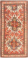 Antique Eagle Kazak Rug 47130 Color Detail - By Nazmiyal