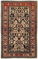 Antique Shirvan Caucasian Rug 47059 Color Detail - By Nazmiyal