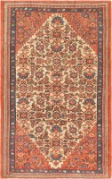 Antique Persian Bakshaish Carpet 47228 Color Detail - By Nazmiyal