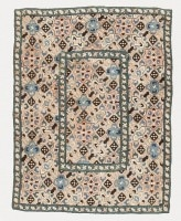 Antique Azarbaijan Embroidery Textile 47374 Color Detail - By Nazmiyal