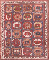 Antique Tribal Persian Afshar Rug 47543 Color Detail - By Nazmiyal