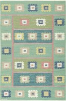 Vintage Scandinavian Carpet by Marta Maas 47515 Color Detail - By Nazmiyal