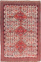 Antique Tribal Gashgai Persian Rug 47550 Color Detail - By Nazmiyal