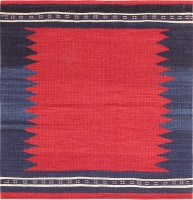 Antique Tribal Gashgai Rug 47618 Color Detail - By Nazmiyal