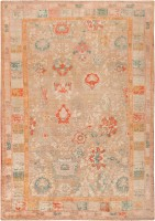 Rare Antique Angora Oushak Rug 47651 Color Detail - By Nazmiyal