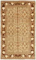 Antique Agra Oriental Rug 3130 Color Detail - By Nazmiyal
