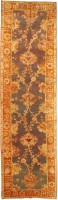 Antique Donegal Irish Rug 43780 Color Detail - By Nazmiyal