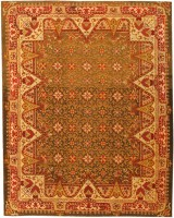 Antique Irish Rug 1285 Color Detail - By Nazmiyal