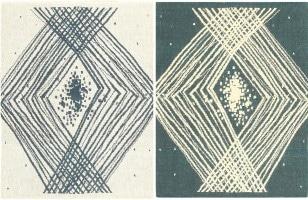 Vintage Double Sided Swedish Kilim Rug 48050 Color Detail - By Nazmiyal