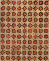Antique American Hooked Rug 48144 Color Detail - By Nazmiyal