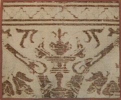 Antique Spanish Carpet 3430 Color Detail - By Nazmiyal